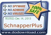 SchnapperPlus is safe to download